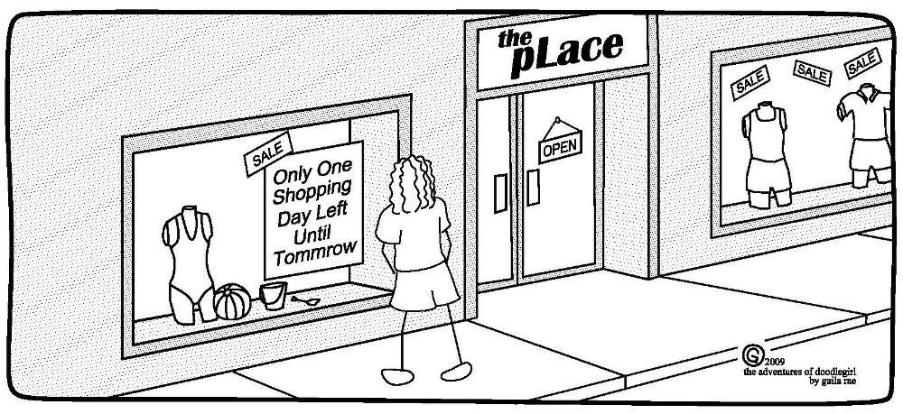 Shop sketch