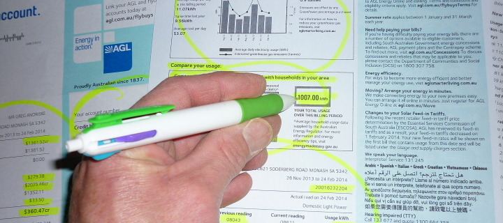 Understand how to read your power bill